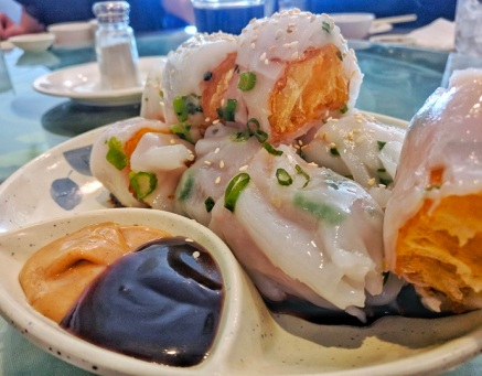 Rice Roll with Chinese Donut