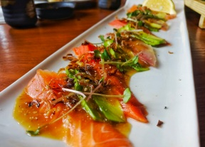 Seafood Carpacio