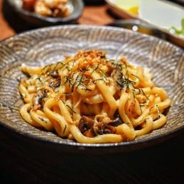 Mushroom Cream Udon